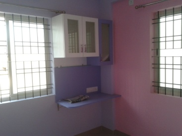 A study corner made into an inspiration corner with pastel colours