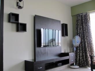 A sleek design in monotone black