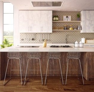Explore our work on kitchen spaces!