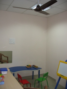 A colourful space of learning for kids