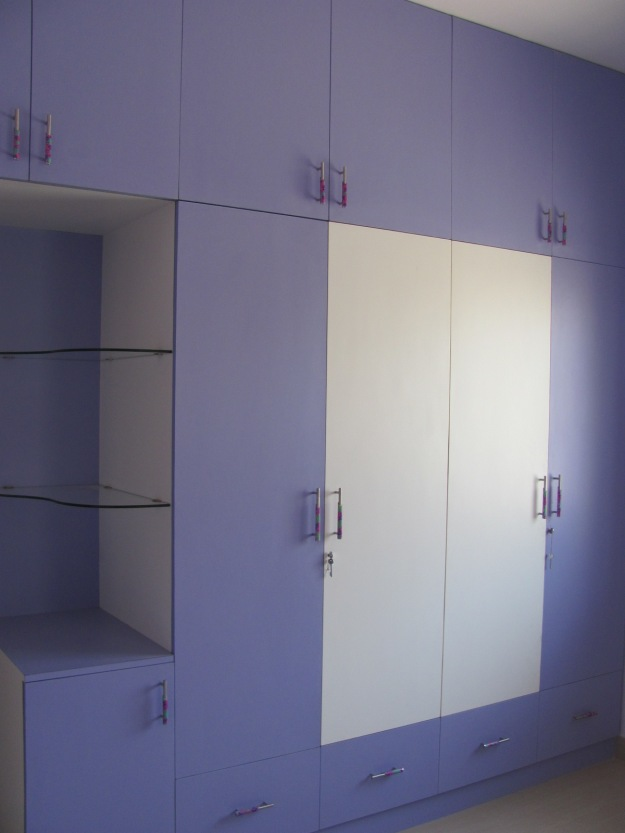 Lilac inspired cupboard and showcase