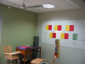 Colour boards added for an interactive learning experience
